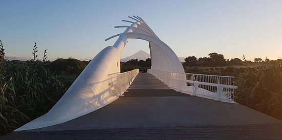 Taranaki Region, New Zealand: Te Rewa Rewa Bridge
