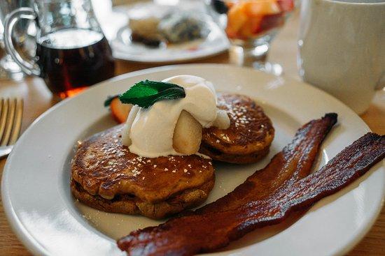 The Inn at Stockbridge: Gingerbread pancakes...need I say more?