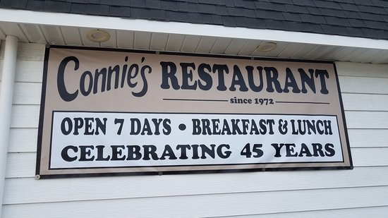 Farmingdale, NJ: Connie's has been in business for 45 years