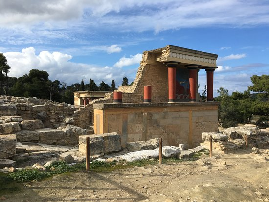 Ираклион, Греция: Knossos Palace Guided Walking Tour