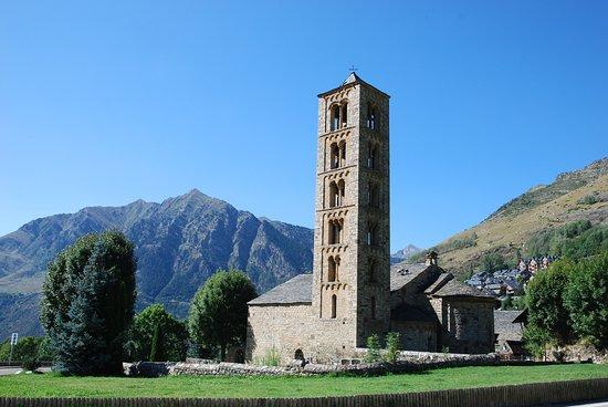 Eglésia de Sant Climent de Taüll: Esglesia de Sant Climent de Taull, Romanesque church, Catalonia, Spain