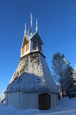 Tornio, Finland: the church in wintertime