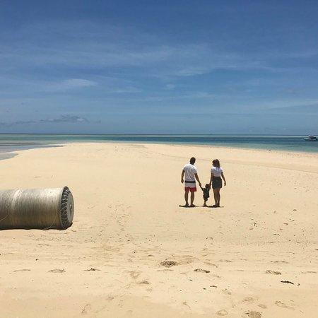 Leleuvia Island Resort: スバからフェリーで移動しました(´∀`) ものすごく、素敵なところでご飯の時は貝で🐚音をならしご飯ができたよ〜と合図します!シュノーケリング、近くの島まで無料で連れって行ってくれたりカヌーな
