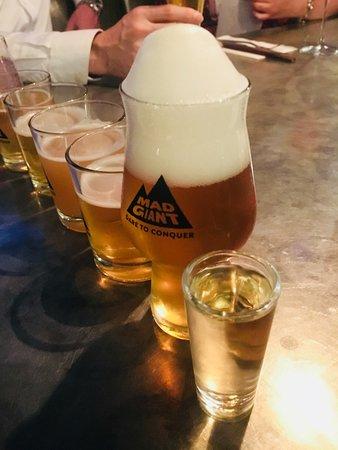 Urbanologi: All lined up - beer tasting