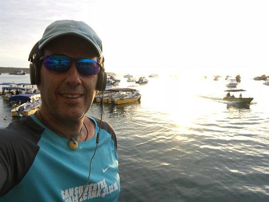 Puerto Ayora, Ecuador: malecón
