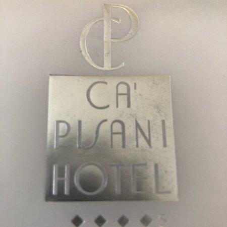 Ca' Pisani Hotel: Enveloppe pour facture finale