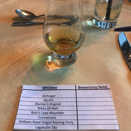 Fun event! Whiskey Tasting/Food Pairing