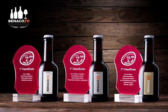 Affi, Italie : Premi Concorso Birra dell'Anno 2018