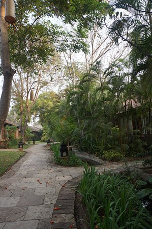Jardin aménagé au Tharabar Gate - Picture of The Hotel at Tharabar ...