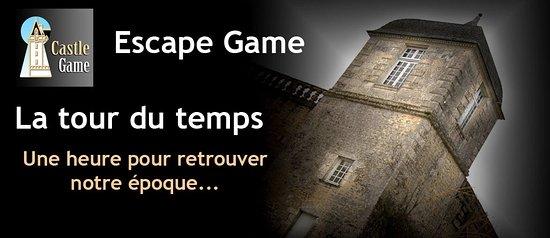 """Saint Porchaire, ฝรั่งเศส: Escape game : """"La tour du temps"""" 1h pour reconstruire la roue du temps..."""