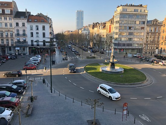 Hotel a la Grande Cloche: View from Room 23