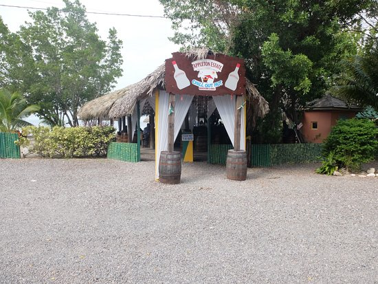 Chill Out Hut: Main entrance
