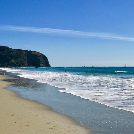 Dana Point, Kalifornien: 🌊DANA STAND BEACH, CA!  ❤️Small step workout to get to the 😍🏖