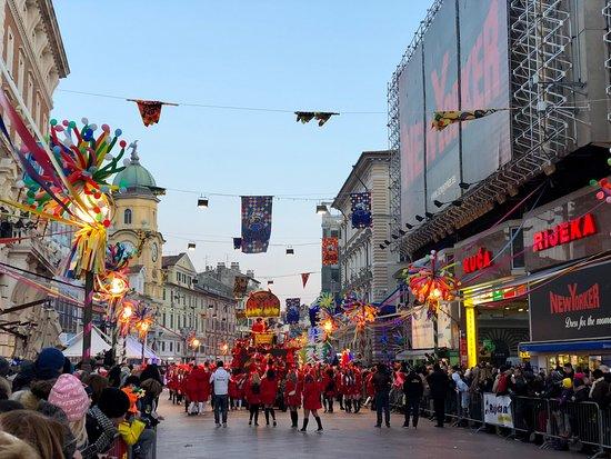 Rijeka, Croatia: International Carnival Parade