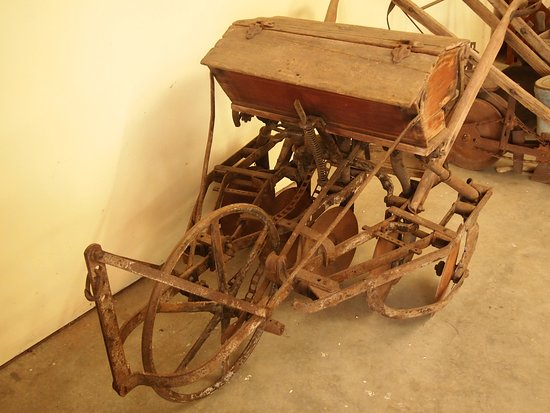 One Of Many Antique Farm Implements