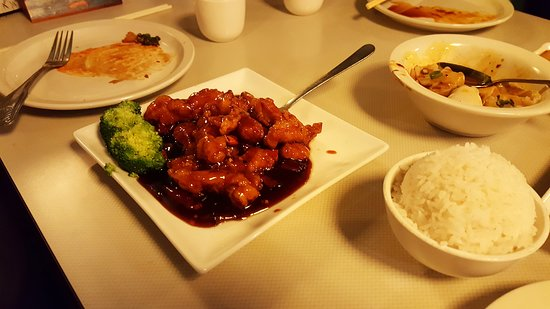 Vernon, CT: General Tso's Chicken