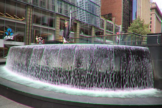 The Matrix Fountain