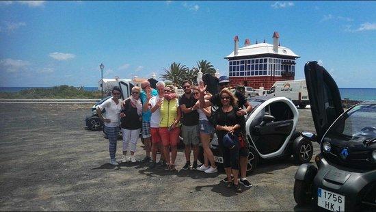 Macher, Spanje: Supertruppe bei unserer Coast-Tour in den Norden der Insel