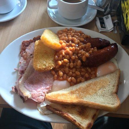 Great breakfast,