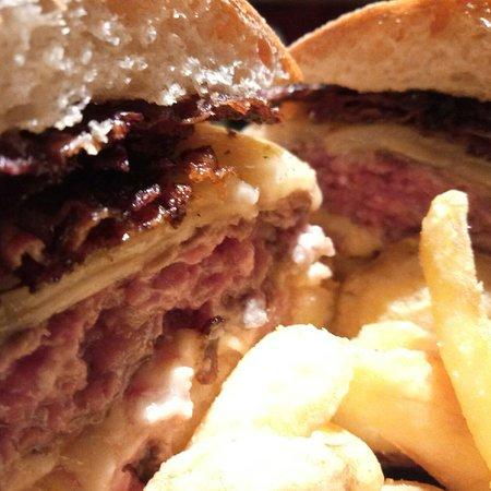San Vito Romano, Италия: sopo burger!
