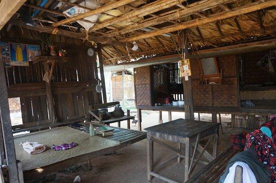 Intérieur maison de Minnanthu - Picture of Minnanthu Village, Bagan ...