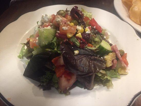 River Oyster Bar: zesty salad