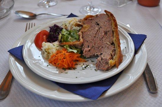 Ferme auberge du Ried : pain de viande