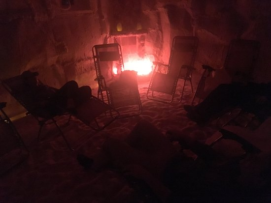 Doylestown, PA: So Relaxing ! A Cave made of Salt filled with Salty Air from a Generator ! Just WOW ! So Cool !