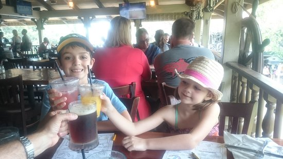 Captain Jack's Island Grill: Lunch @ Caption Jacks On Front Street