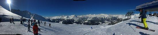 Sluderno, Italia: Ein tolles Angebot ist die 3-Länder-Skisafari