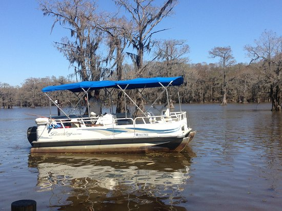 Big Dreamer Tours & Guide Services Pontoon Tours on Caddo Lake, Uncertain Texas