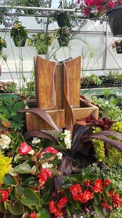 Hardy, VA: Water sculptures