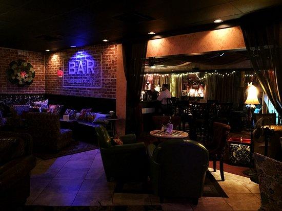 The Attic Door Wine Bar and Tea Room: Inside The Attic Door
