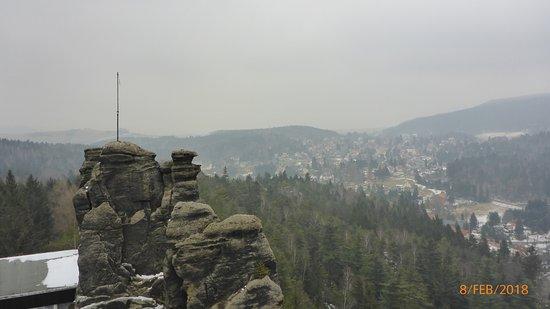 Jonsdorf, Germany: Zum anderen Felsen