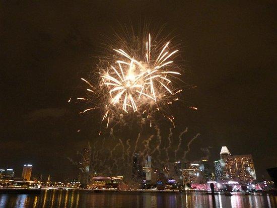 Marina Bay: July fireworks