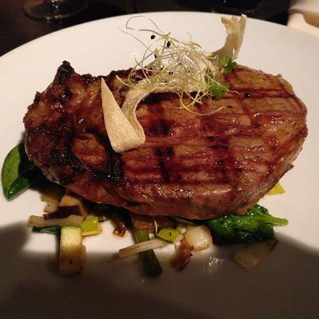 Goede steak slechte bediening