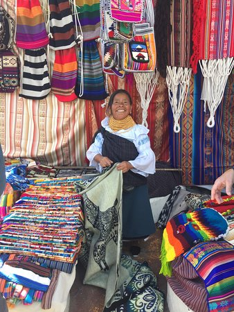 Otavalo Market: vibrant colors
