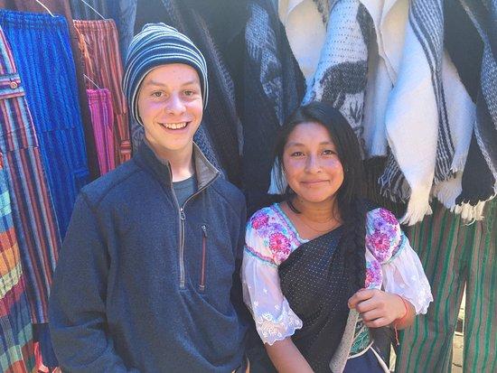 Otavalo Market: fun to meet the vendors