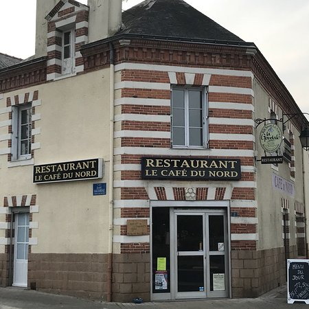 Joue-sur-Erdre, Prancis: Restaurant le Café du Nord