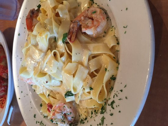 Norristown, PA: fetuccini alfredo with shrimp