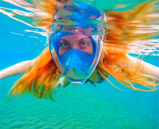Kihei, HI: New TRIBORD Full Face Masks! Breathe through your nose and your face stays dry!