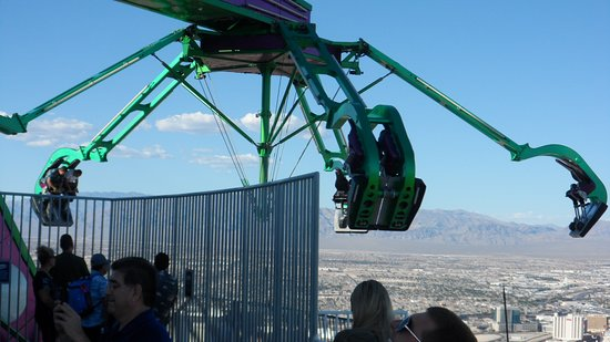 Insanity Extended Over Las Vegas Bild Von Insanity The Ride At