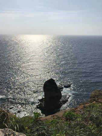 Tachigami Rock: 上からみました