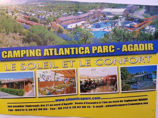 Imi Ouaddar, โมร็อกโก: Folheto do Atlantica Parc (Fev 2018)