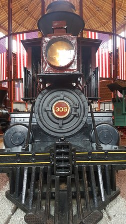 Baltimore and Ohio Railroad Museum: Front of Engine
