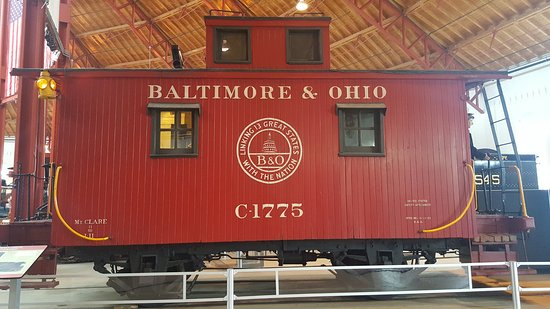 Baltimore and Ohio Railroad Museum: Caboose