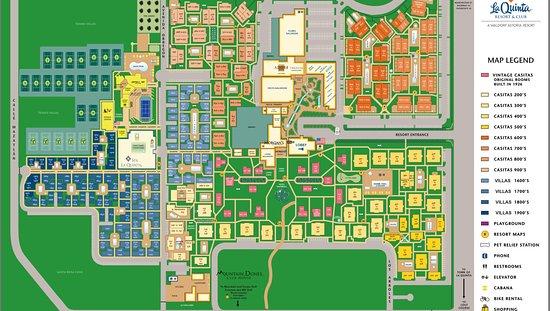 La Quinta Resort & Club, A Waldorf Astoria Resort: map - MAZE