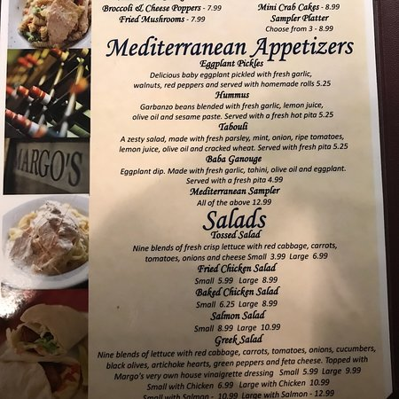 Griffin, GA: Dinner Menu