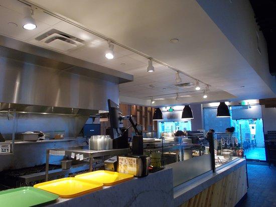 Pickup Counter Modern Market Restaurant 4821 North