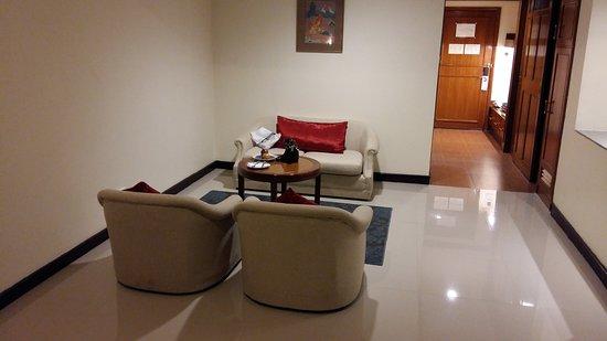 Loei Palace Hotel: De Luxe bedroom
